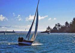 J/30 sailing Pacific Northwest