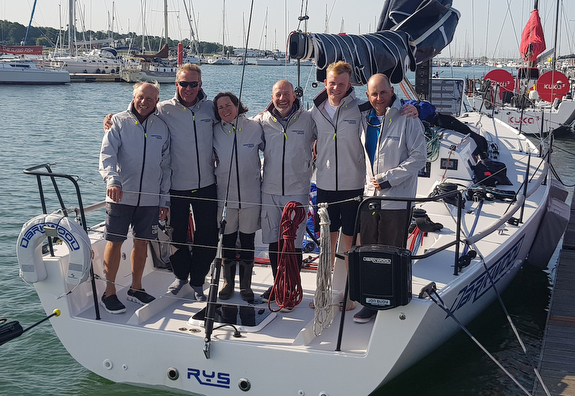 J/121 Darkwood- winner RORC Channel Race winners