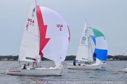 J/22 Midwinters- sailing downwind