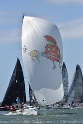 J/88 sailing fast