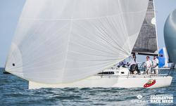 J/111 sailing Charleston