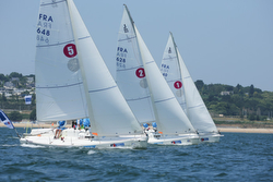 J/80 sailing league- Brest, France