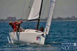 J/70 sailing NOOD Chicago