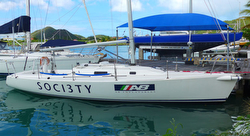 J/105 Antigua sailing race weeks!