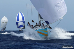 J/122 sailing Antigua Sailing Week