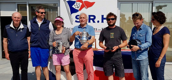 J/133 Pintia winning team in RORC Cervantes Race