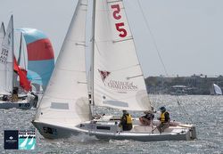 J/22's sailing Charleston Race Week
