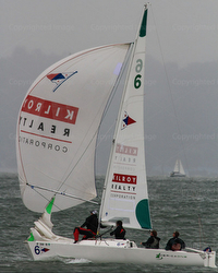 J/22 Kilroy Realty sponsor- sailboat in San Francisco