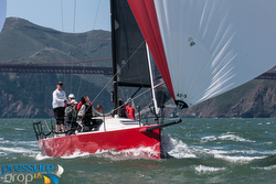 J/111s sailing in San Francisco Bay