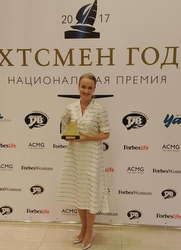 Russian Sailor of Year Awards winner- Elena Otekina