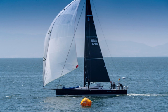 J/121 Blueflash sailing Ensenada Race