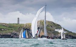 J/109 sailing RORC Round Ireland race