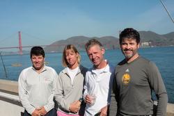 St Francis YC match race crew- Shawn Bennet