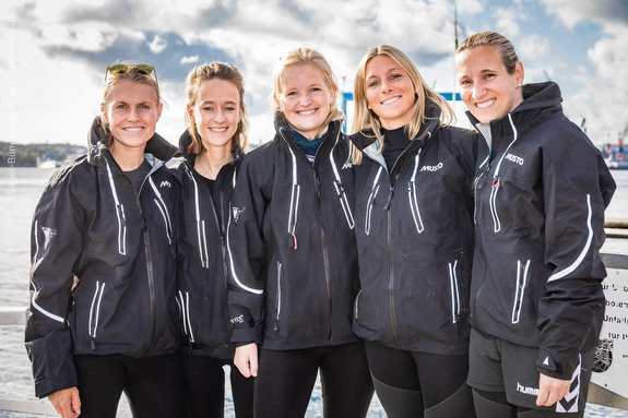 J/70 German women's sailing team