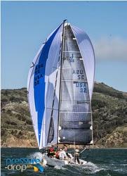 J/88 sailing San Francisco Bay