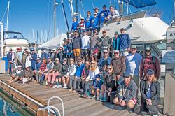 San Diego YC Club Championship sailors