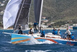 J/122 sailing Heineken St Maarten regatta