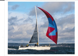 J/120 sailing Swiftsure Race