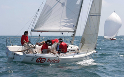 J/80 HM Hotels wins Spanish Nationals