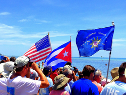 Conch Republic to Havana sailboat start