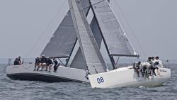 J111 My Sharona sailing upwind
