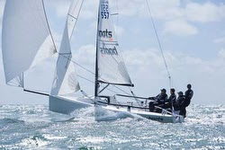 J/70 boats.com sailed by Ian Atkins and Rorey Scott