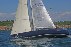J/35 Breakaway sailing Bermuda1-2 Race/ Paul Grimes skipper