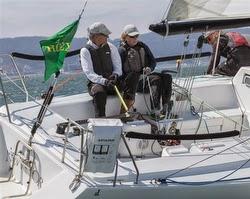 J/105 Arbitrage- Bruce Stone & Nicole Breault- sailing Rolex Big Boat Series