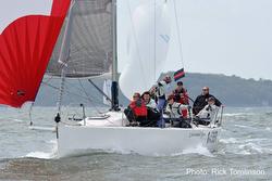 J/109 Diamond Jem sailing RORC Vice Admirals Cup