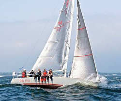 J/92 sailing Vineyard Race