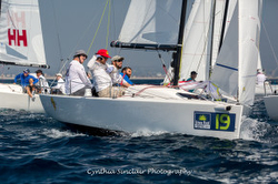 Jud Smith winning in J/70 North Americans