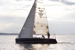 J/100 sailing Race to Straits - Seattle to Port Townsend