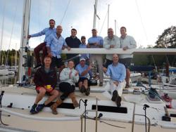 J/120 sailing crew