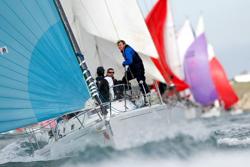 J/109 sailing Round Island Race
