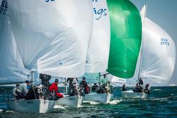 J/24s sailing Annapolis NOOD