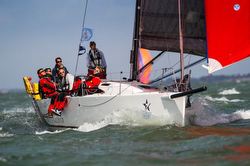 J/111 British Soldier sailing RORC Round Britain & Ireland race