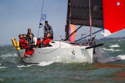 J/111 British Soldier sailing RORC Round Britain & Ireland race