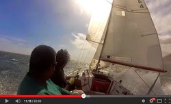 J/22 Kingston Jamaica speed record!