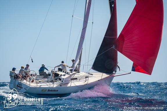 J/105 sailing Caribbean St Maarten Heineken Regatta