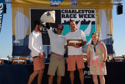 J/70 winners- Flojito y Cooperando at Charleston