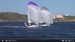 J/70 sailing video- Sailing Champions League