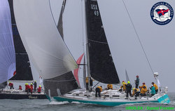 J/44 sailing NYYC Annual Regatta
