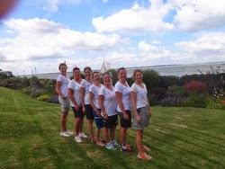 J/80s ladies- sailing at Royal Yacht Squadron- Cowes, England