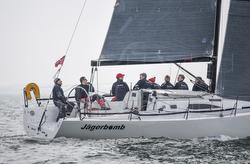 J/111 sailing on Solent