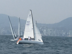 J/70 sailing Acapulco