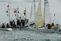 J/24s sailing Europeans in France