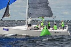J/109 sailing at Marblehead ONE regatta