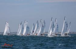 J/70s sailing Long Beach