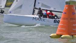 J/70 sailing league and MarkSETBot