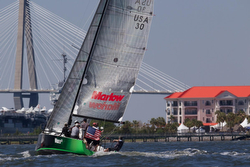 J/111 sailing Charleston Race Week